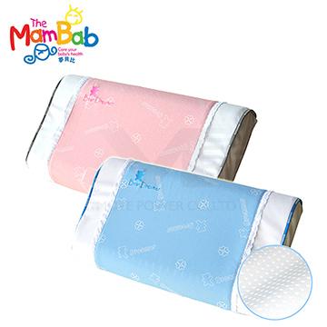 《Mambab-夢貝比》銀離子抗菌兒童透氣孔乳膠枕