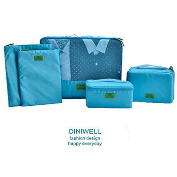 DINIWELL 二代網格旅行收納五件組