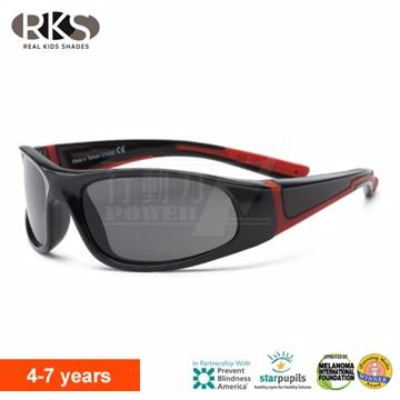 美國《RKS》音速閃電兒童太陽眼鏡4-7歲【紅黑-兒童系列】