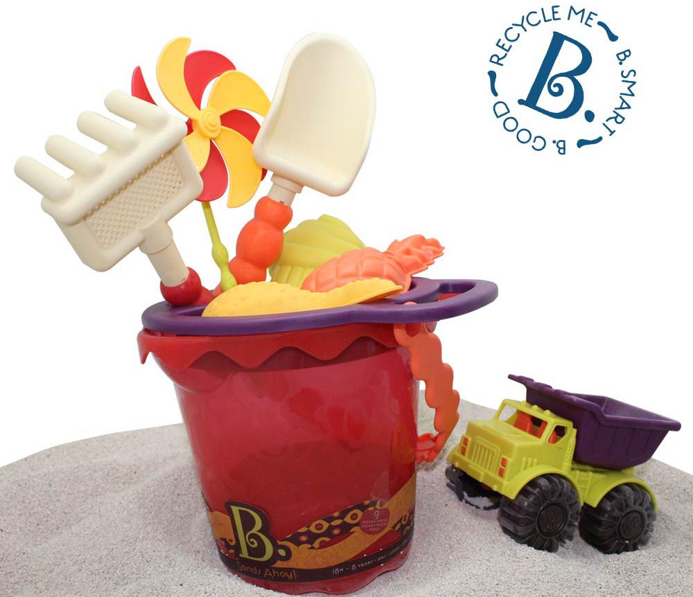 美國【B.Toys】沙趣多多 (芒果色) BX1331Z