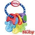 Nuby 冰膠固齒玩具-鑰匙造型