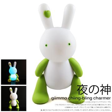 【BabyTiger虎兒寶】giimmo魔幻七彩玩伴拍擊夜燈-兔子雷蒙Lemon