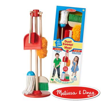美國 Melissa & Doug 角色扮演-幼兒掃地清潔工具組