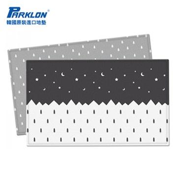 【BabyTiger虎兒寶】PARKLON 韓國帕龍 - 雙面加厚 1 . 2CM PVC 爬行地墊 -【聖誕星空】