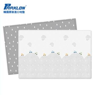 【BabyTiger虎兒寶】PARKLON 韓國帕龍 - 雙面加厚 1 . 2CM PVC 爬行地墊 -【小汽車的冒險】