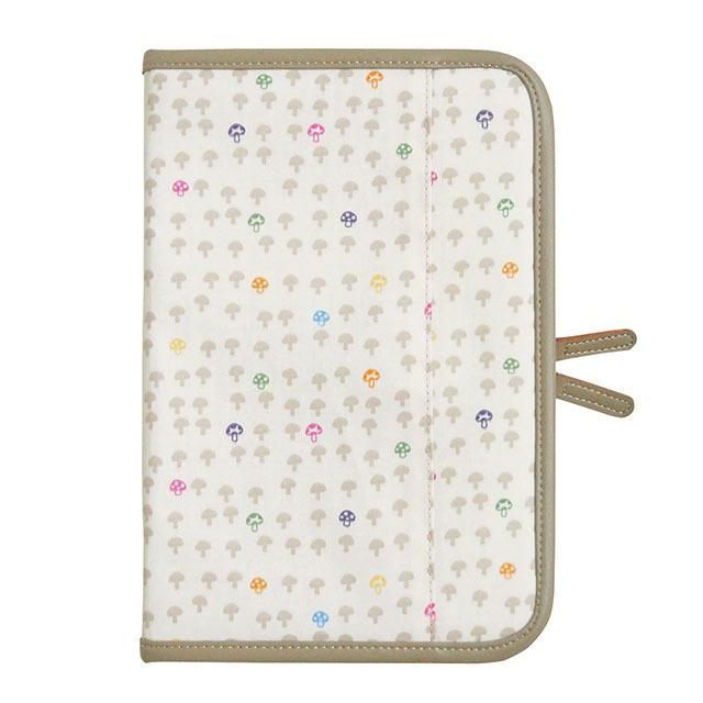 Hoppetta 蘑菇母子手冊包 (香草白)