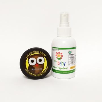 Lafes Organic有機嬰兒防蚊液+咕咕黃金膏 組合價