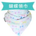 YoDa 和風透氣六層紗扣扣兜-蝴蝶領巾