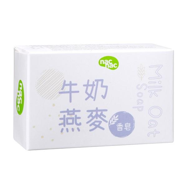 【 nac nac】牛奶燕麥嬰兒皂75g