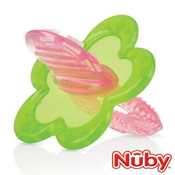Nuby 固齒玩具(粉綠)
