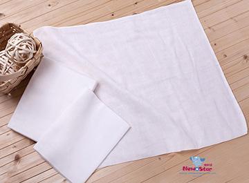 New Star 新生兒 超柔軟纖細 環保棉紗尿布l環保布尿布l環保紗 布尿布l可洗布尿布(大、6條入)