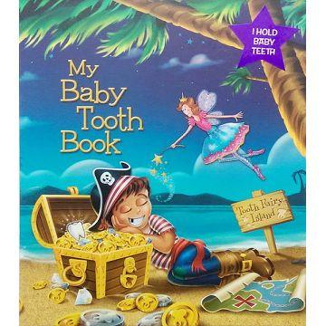 美國 Baby tooth album 乳牙/乳齒保存盒 單CD精裝版-海盜(1407)