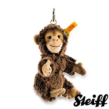 STEIFF德國金耳釦泰迪熊 - Monkey 猴子 (經典鑰匙圈/吊飾)