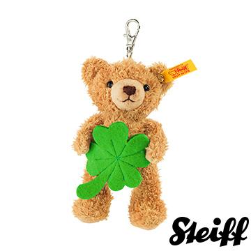 STEIFF德國金耳釦泰迪熊 - Lucky Charm Keyring (經典鑰匙圈/吊飾)