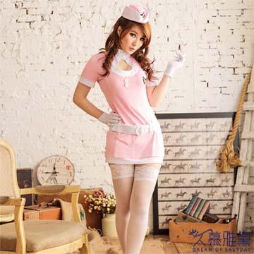 久慕雅黛 女士性感蕾絲網襪睡衣 情趣女警遊戲制服誘惑內衣套裝
