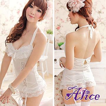 【Alice】性感蕾絲吊帶情趣內衣(AK242)