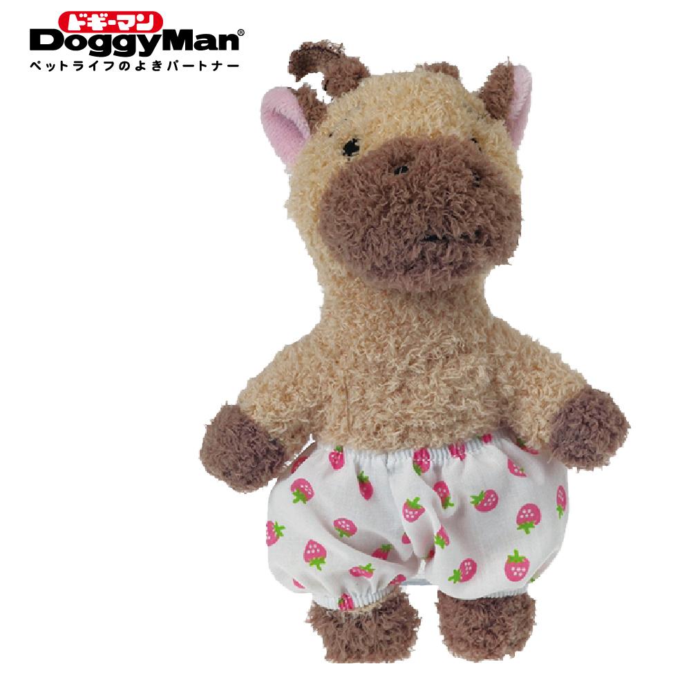 Doggyman 犬用友達系列毛絨啾啾玩具-長頸鹿之助