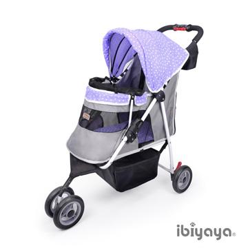 IBIYAYA依比呀呀-閃亮星空寵物三輪車-極光紫【FS1101S】