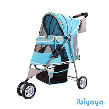 IBIYAYA依比呀呀-繽紛午茶寵物三輪車-慕斯藍【FS1101S】