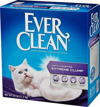 【藍鑽EverClean】 特級清香結塊貓砂(綠標)25LBx2入+Sheba-誘惑泥12g*4條(每包)