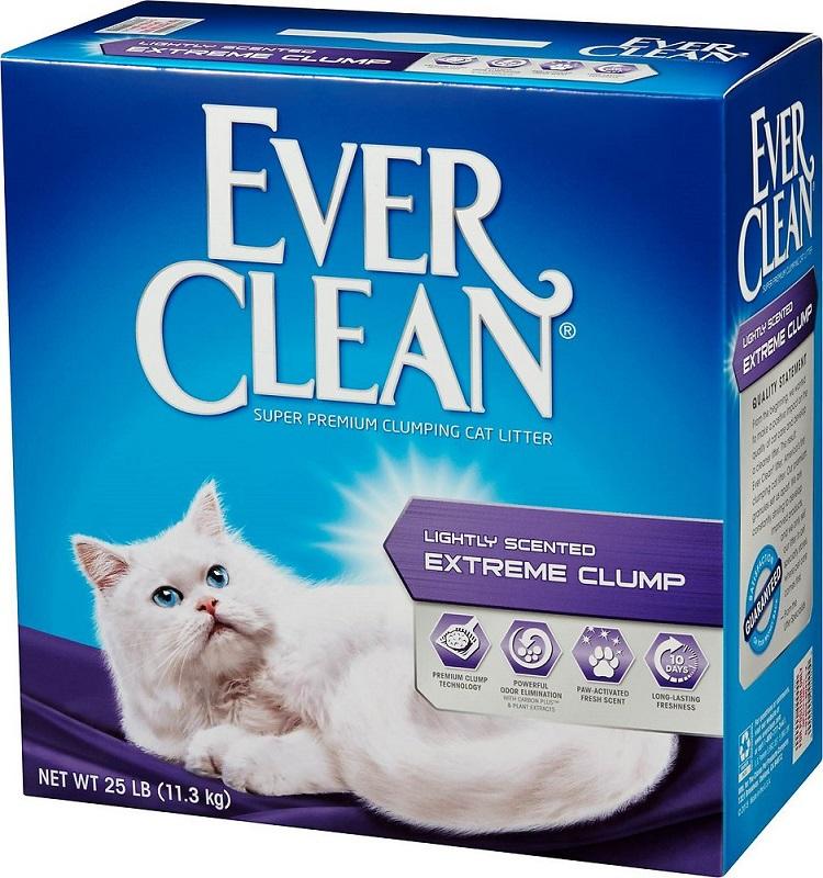 【藍鑽EverClean】 特級清香結塊貓砂(綠標)25LB