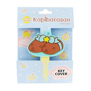 Kapibarasan水豚君12星座鑰匙套。雙子座