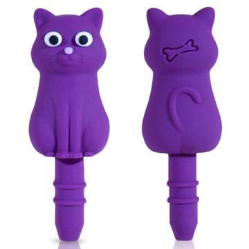 BONE / 貓咪造型防塵耳機塞(2入)