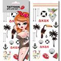 LIL Biatch's X C&CHAT紋身貼-巴西嘉年華會