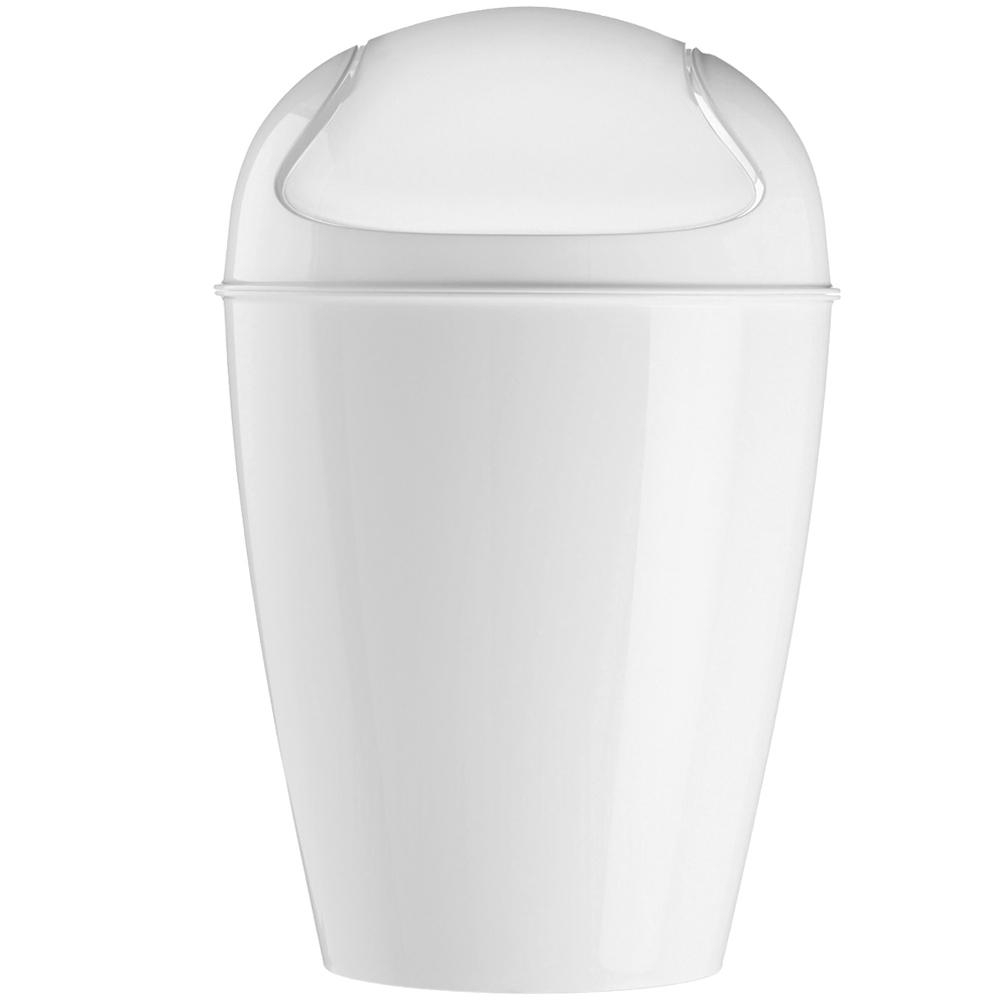 KOZIOL 搖擺蓋垃圾桶(白XXS)