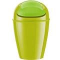 KOZIOL 搖擺蓋垃圾桶(綠XXS)