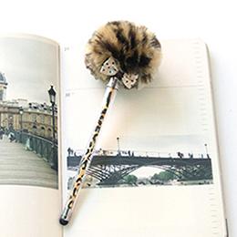 SAKOX 棒棒糖(觸控/原子)兩用筆-焦糖豹豹Leopard Brown