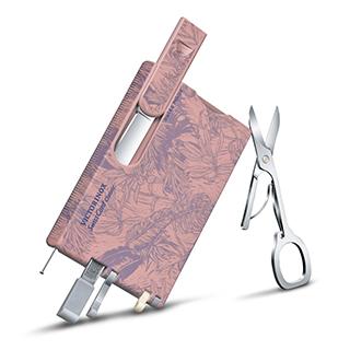 VICTORINOX 瑞士維氏10用名片型瑞士刀-印花