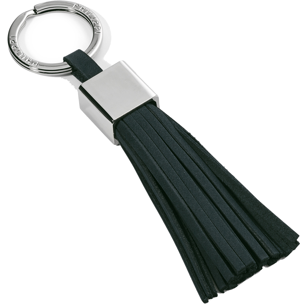 PHILIPPI Gala流蘇鑰匙圈(墨綠)