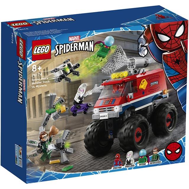 樂高積木 LEGO《 LT76174 》202101 Super Heroes 超級英雄系列 - Spider-Man's Monster Truck vs. Mysterio