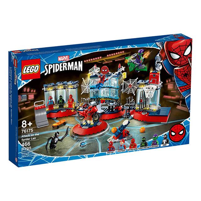 樂高積木 LEGO《 LT76175 》202103 Super Heroes 超級英雄系列 - 蜘蛛人 綠惡魔 Attack on the Spider Lair