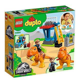 樂高積木 LEGO《 LT10880 》Duplo 得寶系列 - 侏儸紀世界 - 暴龍塔