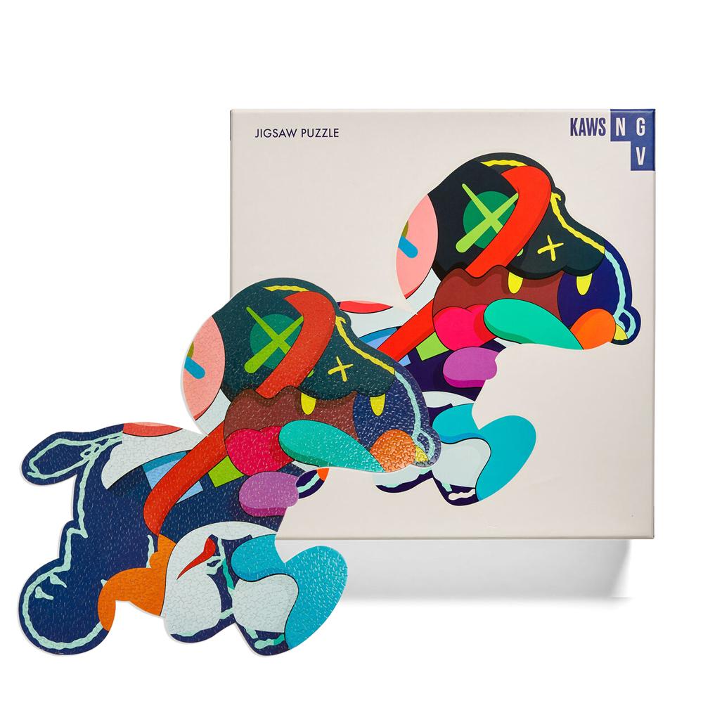 KAWS Jigsaw snoopy Puzzle 史努比奔跑潮流拼圖1000片