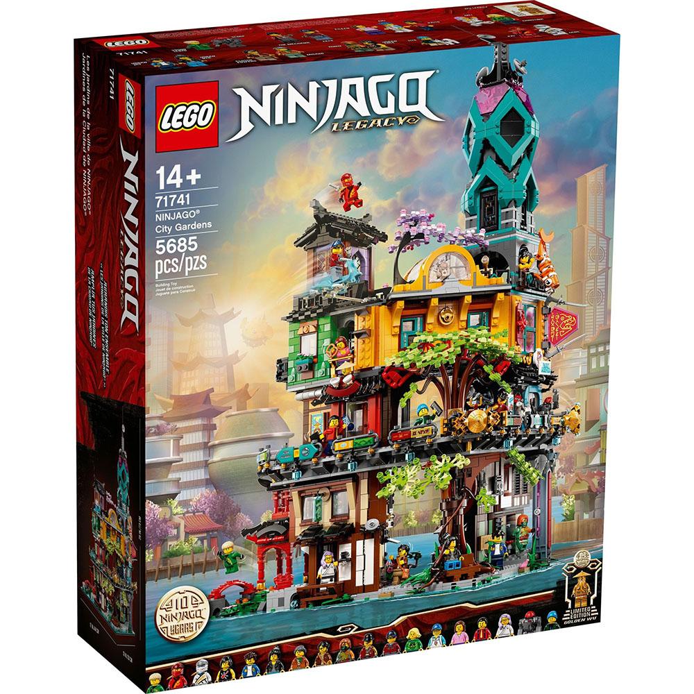 樂高積木 LEGO《 LT71741 》202105 Ninjago 旋風忍者系列 - 旋風忍者城10週年版