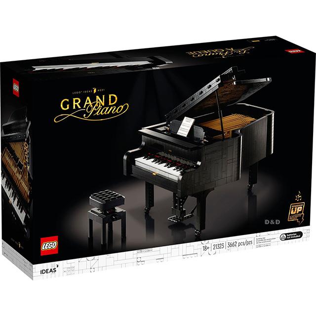 樂高積木 LEGO《 LT21323 》2020年 IDEAS 系列 - 演奏鋼琴