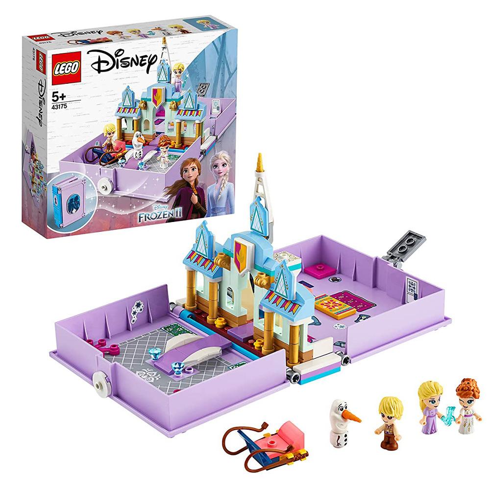 樂高 LEGO 積木 迪士尼 冰雪奇緣 安娜與艾莎的口袋故事書 立體書 43175 代理公司貨