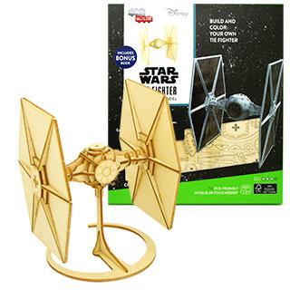 JIGZLE® 3D-木拼圖 星際大戰 鈦戰機 DIY 手作 積木 禮品