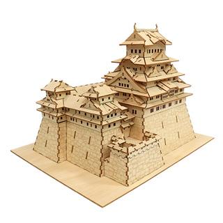 JIGZLE® 3D-木拼圖 姬路城堡 手作 積木 禮品