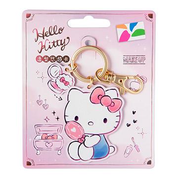 HELLO KITTY 造型悠遊卡-生活   三麗鷗商品 鑰匙圈 卡哇伊 限量