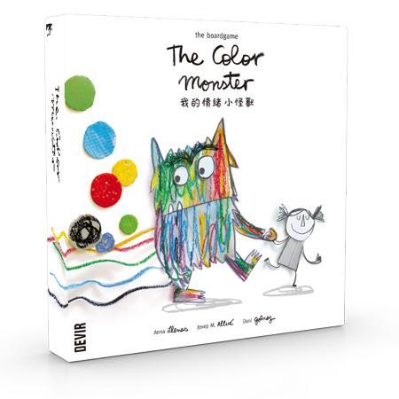 我的情緒小怪獸 桌上遊戲 (中文版) The Color Monster