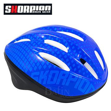【SKORPION】新旋風自行車安全帽(藍)