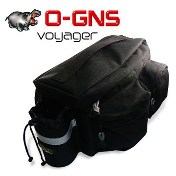 《O-GNS Votager》自行車專用旅行後袋
