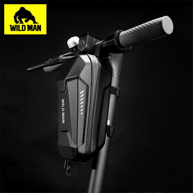 WILD MAN 自行車滑板車首袋EVA硬殼防水收納包