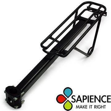 【SAPIENCE 】專業自行車鋁合金帶腳後貨架