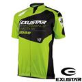 EXUSTAR 短袖自行車衣(綠黑)