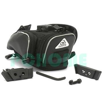 LOTUS快拆座墊袋,後側全開大嘴型式,兩側有收納袋與鬆緊帶,放工具最方便《SH-903T》